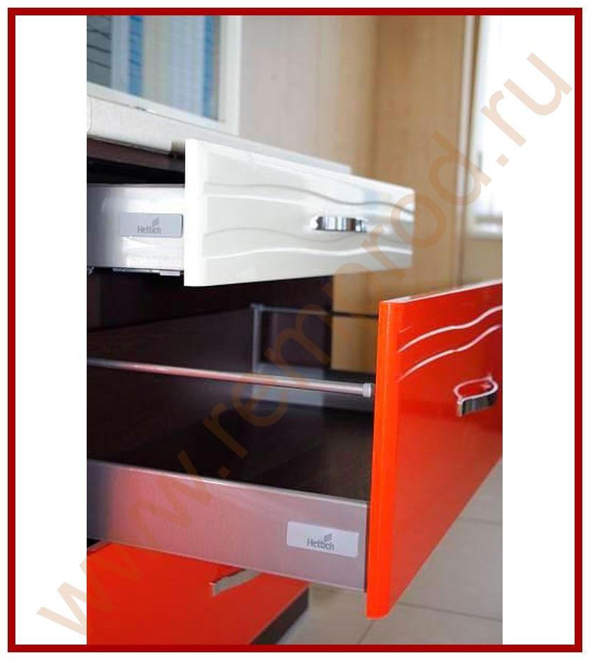 Кухня оранж-9 витра, модульная кухня эконом класса со склада.