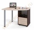 Компьютерный стол КСТ-102 Венге/Беленый дуб
