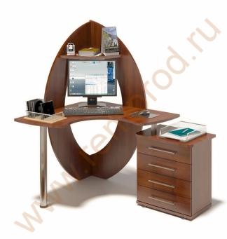 Компьютерный стол КСТ-101 +  тумба КТ-102