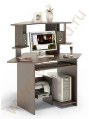 Компьютерный стол КСТ-02В+ надстройка КН-02