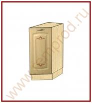 Стол Торцевой Правый Кухня Глория 3 Модуль 03.64.1