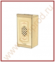 Шкаф с решеткой лев./пр. Кухня Глория 3 Модуль 03.05