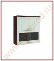 Шкаф-витрина Кухня Каролина 11 Модуль 11.81
