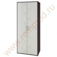 Шкаф двухдверный многофункциональный - Спальня Джулия Модуль 97.13