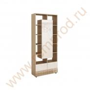 Стеллаж угловой универсальный - Спальня Бриз Модуль 54.06