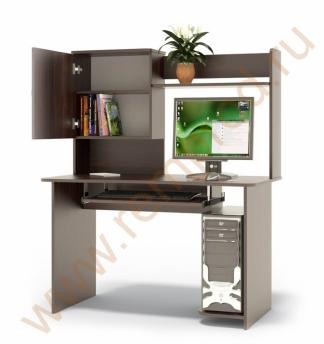 Компьютерный стол КСТ-04В+ надстройка КН-24В