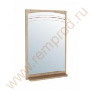 Панель с зеркалом - Спальня Бриз Модуль 54.18