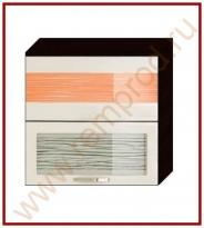 Шкаф-витрина Кухня Оранж 9 Модуль 09.81