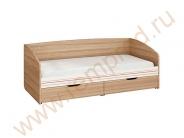 Кровать - Спальня Бриз Модуль 54.11