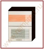 Шкаф-витрина Кухня Оранж 9 Модуль 09.80