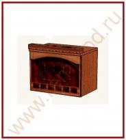 Шкаф-ниша над вытяжкой Кухня Глория 6 Модуль 06.13