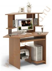 Компьютерный стол КСТ-02 + надстройка КН-02