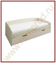 Кровать - Спальня Акварель Модуль 53.11