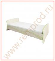Кровать - Спальня Акварель Модуль 53.10