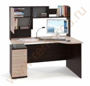 Компьютерный стол КСТ-104 + надстройка КН-14