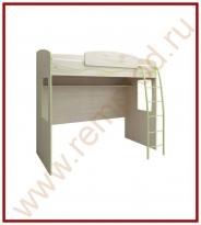 Кровать-чердак - Спальня Акварель Модуль 53.12
