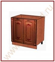 Стол с колоннами Кухня Глория 6 Модуль 06.62.1