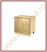Стол с колоннами Кухня Глория 3 Модуль 03.62.1