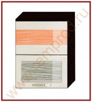 Шкаф-витрина Кухня Оранж 9 Модуль 09.08