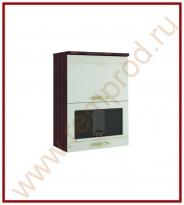 Шкаф-витрина Кухня Каролина 11 Модуль 11.80