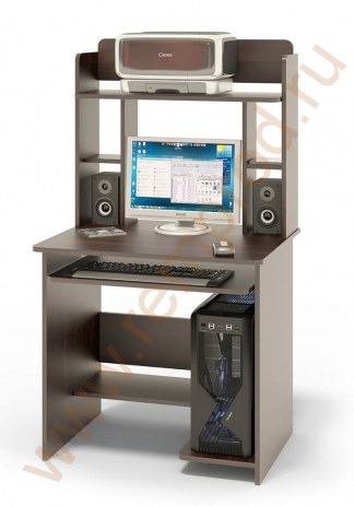 Компьютерный стол КСТ-01В+надстройка КН-12