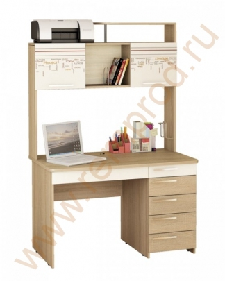 Стол письменный - Спальня Бриз Модуль 54.15