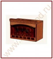 Шкаф-ниша над вытяжкой Кухня Глория 6 Модуль 06.15